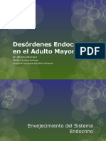 Desórdenes Endocrinos en El Adulto Mayor (1)