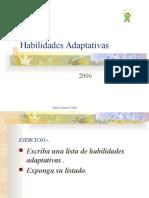 Clases de Habilidades Adaptativas
