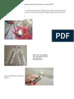 Embalagem Para Presente Feita Com Garrafa PET