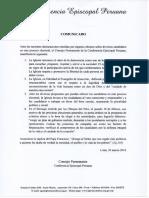Comunicado - CEP Elecciones 2016