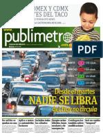 Publimetro MX 31 Marzo 2016