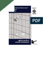 Instalaciones Hidráulicas y Sanitarias - Mezclador 8 Cierre Corriente 2