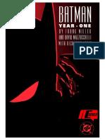 Batman Año 1 Frank Miller