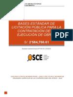 Bases - Pistas y Veredas Santiago de Pupuja