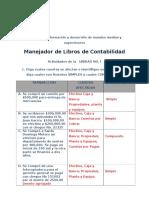 Manejador Libros Contables Actividad Unidad 1