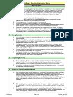 Supplier Information Survey Pg