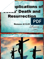 The Implications of Jesus' Death and Resurrection