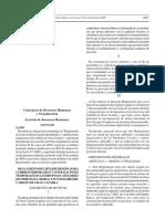 Reglamento de Listas de Reserva Para Cubrir Interinidades y Contrataciones Temporales en Las Distintas Categorías Del Personal Laboral y Funcionario Del Cabildo de Gran Canaria