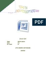 PDF. Menu & Ikon Microsoft Word