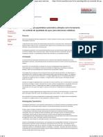 A Metalografia No Controle de Qualidade de Aços Para Estruturas Metálicas