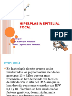 hiperplasia epitelial focal