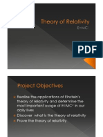 Theory of Relativity Science Inquiry