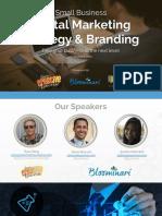 Digital Marketing Strategy & Branding