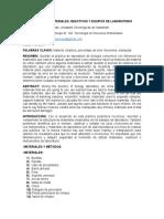 Informe Manejo de Materiales