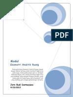 Modul-1 Geometri Analitik Ruang