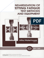 Standardization of Fretting Fatigue
