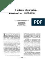 Estado Oligarquico 1820-1850