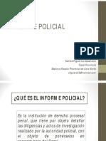 El Informe Policial