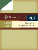 Tecnicas de Integracion Grupal
