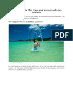 Badeurlaub in Phu Quoc Und Unvergessliches Erlebnis