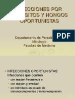 Infecciones Por Parasitos y Hongos Oportunistas