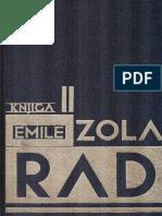 Émile Zola - Rad II