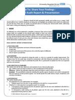 7 How to Write a Report and Presentation v3
