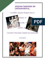 Expresiones Teatrales de Latinoamérica
