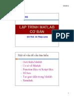 Lap Trinh Matlab Co Ban