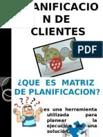Planificacion de Clientes
