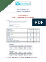 ¡Fiestas Patrias Viaja Por El Perú 2015!