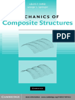 Laszlo P. Kollar and George S. Springer - Mechanics of Composite Structures