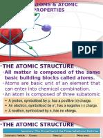(3) Atoms & Atomic Properties