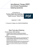Treatment of Stuttering With Rational Emotive Behavior Therapy