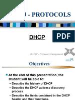 DHCP Presentation