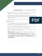 Curso de Informática Básica 7 - El Correo Electrónico