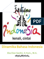 Dinamika Bahasa Indonesia