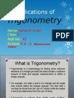 154427867 Ppt on Trigonometry Class 10