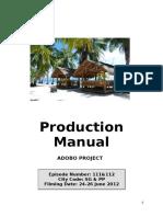 Production Manual SABANG V2-1
