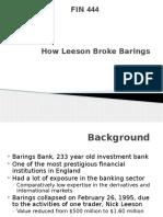 Barings BANK Ppt
