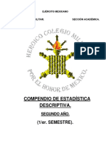 Compendio de Estadística Bueno 2015