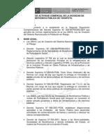 REGLAMENTO DE ACTIVIDAD COMERCIAL 2008 DE LA SBPT