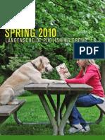Langenscheidt Publishing Group Spring2010 Catalogue