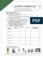 Examen 6 Unidad Bimestral de Historia y Civica