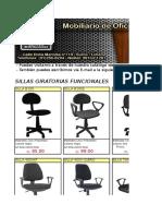 Catalogo Nuevo Sillas Marzo 2015