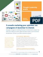 WP TIE Kinetix FR 5 Conseils Pour Dynamiser Le Channel