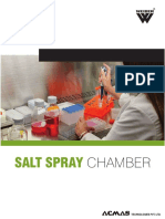 Salt Spray Chamber