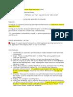 AngularJS Notes
