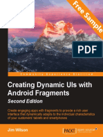 Creating Dynamic UIs with Android Fragments - Second Edition - Sample Chapter