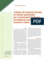 Especial Inventarios Del Medio Natural%3a Trabajos de Inventario Forestal en Montes Gestionados Por La Comunidad Autónoma de Andalucía%3a Pasado%2c Presente y Futuro.